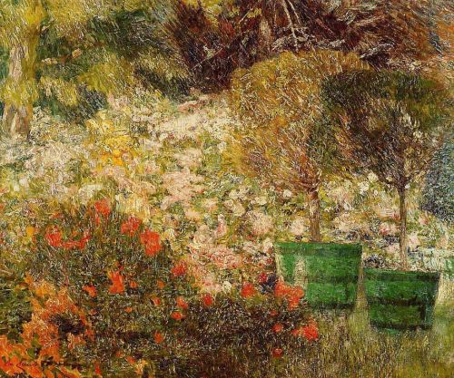 A Corner of My Garden by Emile Claus