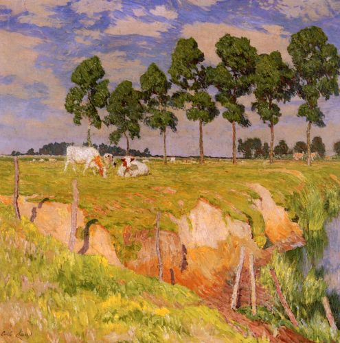 The Receding Bank, July by Emile Claus