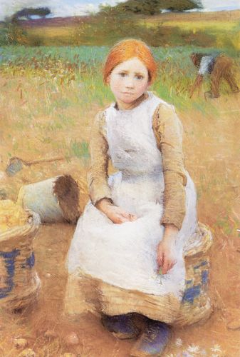 Little Rose by George Clausen