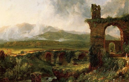 A View near Tivoli by Thomas Cole