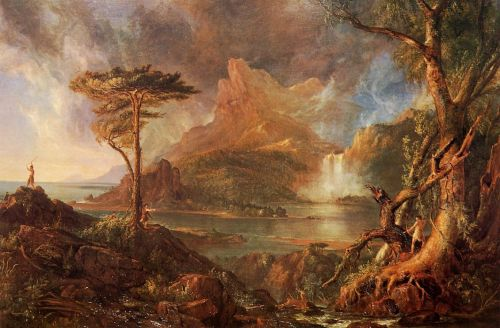 A Wild Scene by Thomas Cole