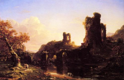 An Italian Autumn by Thomas Cole
