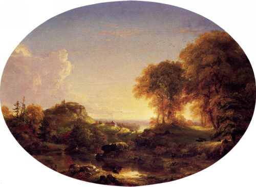 Catskill Landscape by Thomas Cole