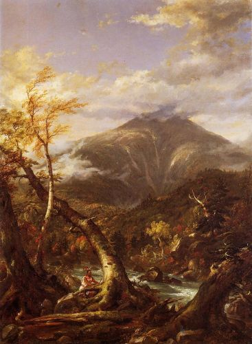 Indian Pass - Tahawus by Thomas Cole