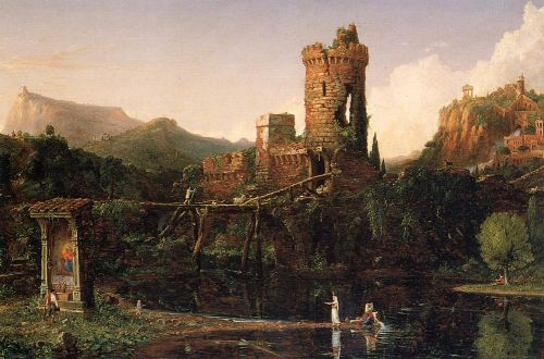 Italian Scenery by Thomas Cole