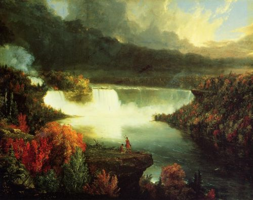 Niagara Falls by Thomas Cole