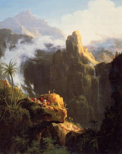 Saint John in the Wilderness by Thomas Cole