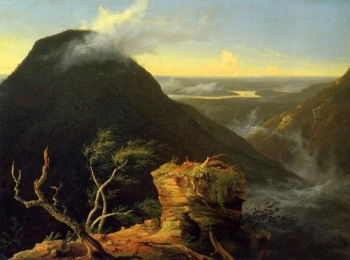 Sunny Morning on the Hudson River by Thomas Cole