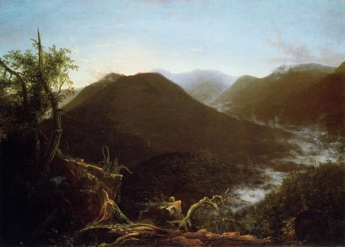 Sunrise in the Catskill Mountains by Thomas Cole