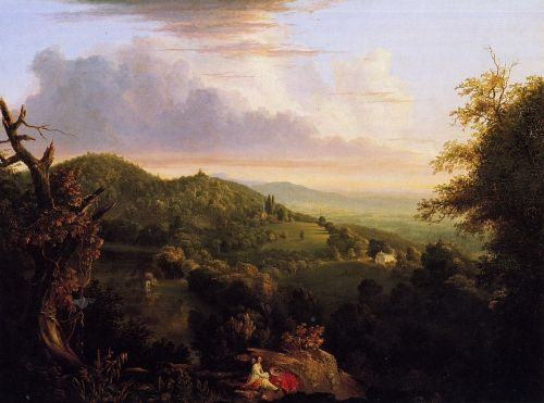 View of Monte Video, Seat of Daniel Wadsworth by Thomas Cole