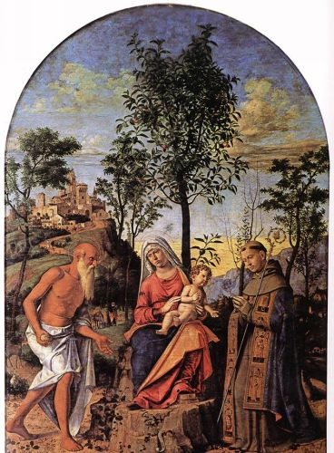 Madonna of the Orange Tree by Cima da Conegliano