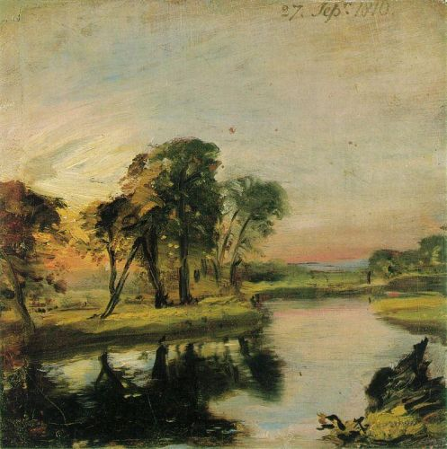 A View on the Stour by John Constable