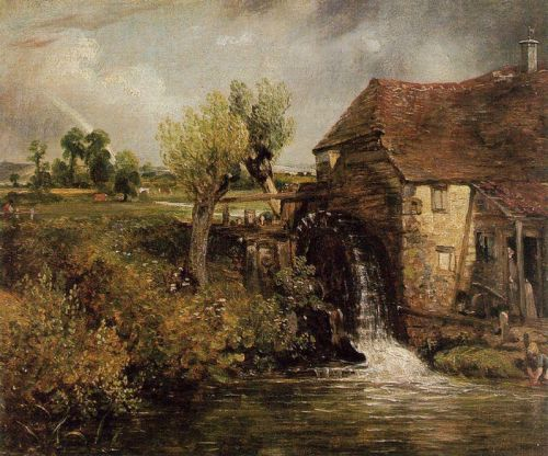 Gillilngham Mill by John Constable