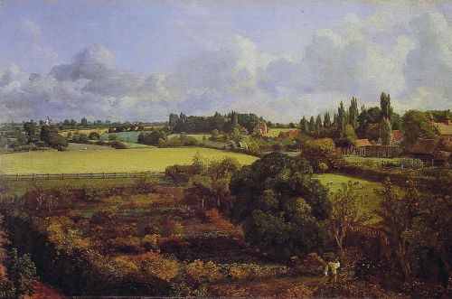 Golding Constable's Kitchen Garden by John Constable