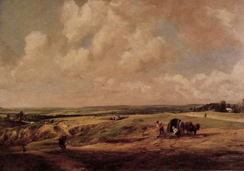 Hamstead Heath by John Constable