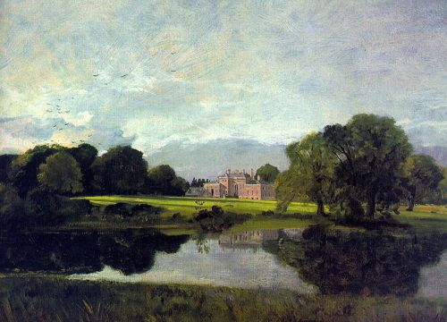 Malvern Hall by John Constable