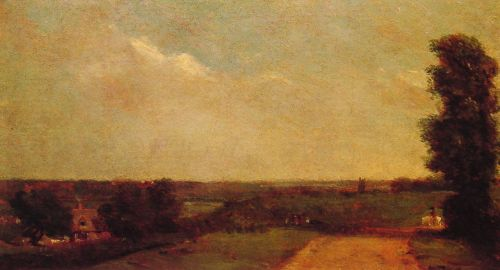 View Towards Dedham by John Constable