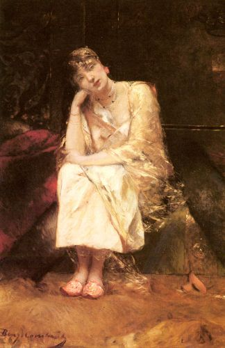 Contemplation by Benjamin Constant