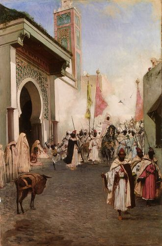 Entrance of Mohammed II into Constantinople by Benjamin Constant