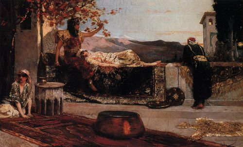 On the Terrace by Benjamin Constant