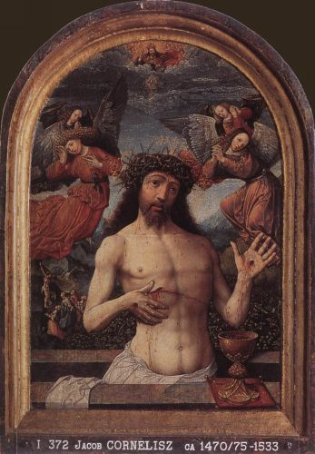 Man of Sorrows by Jacob Cornelisz van Oostsanen