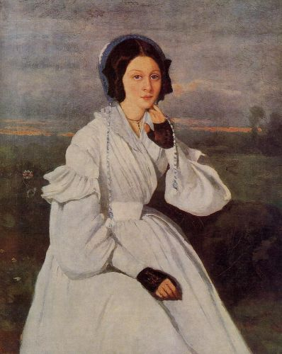 Madame Charmois by Jean-Baptiste Camille Corot