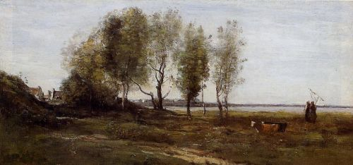 The Bay of Somme by Jean-Baptiste Camille Corot