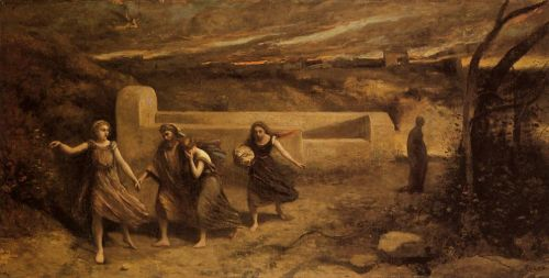 The Destruction of Sodom by Jean-Baptiste Camille Corot