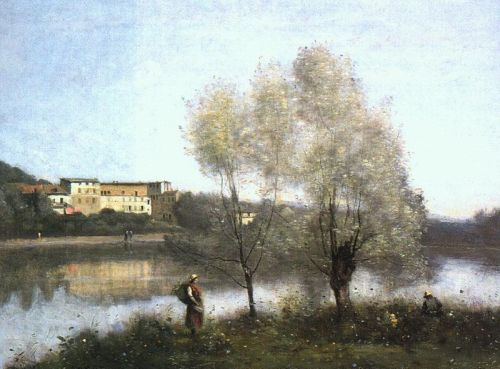 Ville d'Avray by Jean-Baptiste Camille Corot