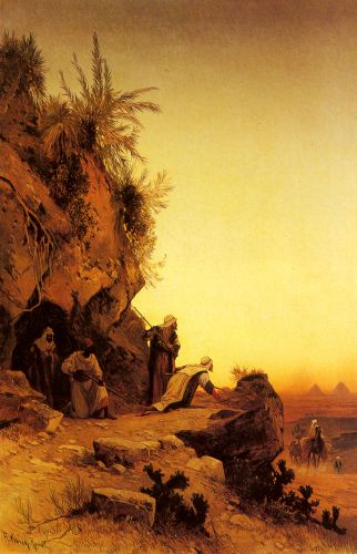 The Ambush by Hermann David Salomon Corrodi