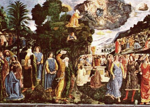 Moses and the Tables of Law by Piero di Cosimo