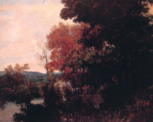 Lisiere de foret by Gustave Courbet