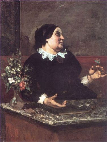 Mother Grégoire by Gustave Courbet