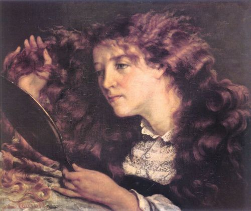 Portrait of Jo, the Beautiful Irish Girl by Gustave Courbet
