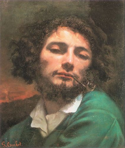 Self Portrait by Gustave Courbet