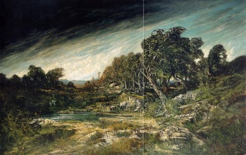 The Approaching Storm by Gustave Courbet