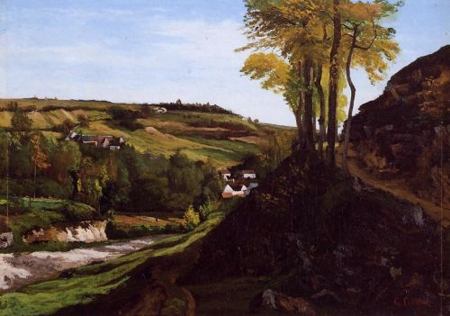 Valley of Ornans by Gustave Courbet