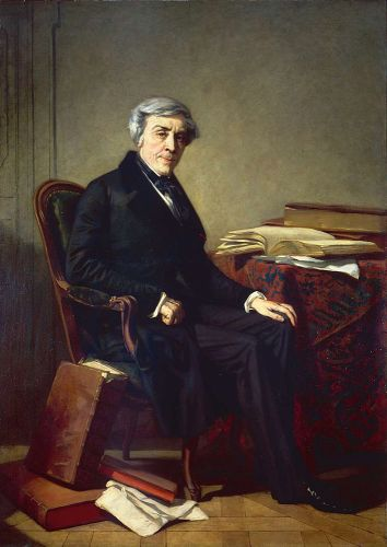 Jules Michelet by Thomas Couture