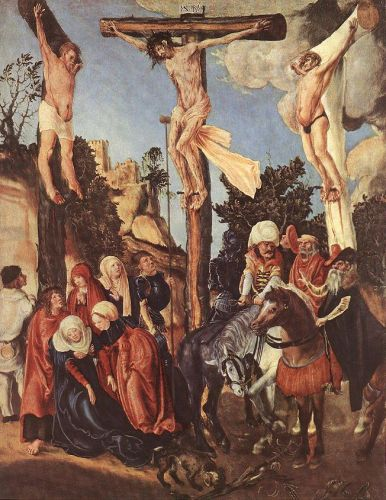 Crucifixion by Lucas Cranach the Elder