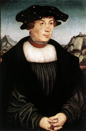 Hans Melber by Lucas Cranach the Elder