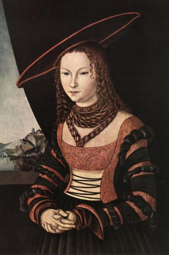 Portrait of a Woman by Lucas Cranach the Elder