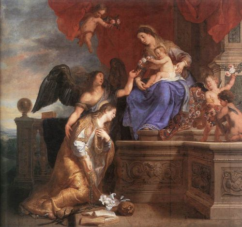 The Coronation of St Rosalie by Gaspard de Crayer