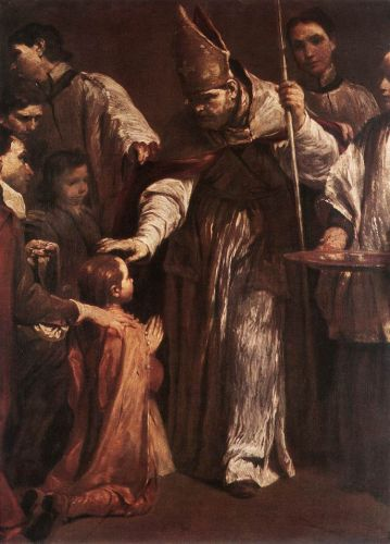 Confirmation by Giuseppe Maria Crespi