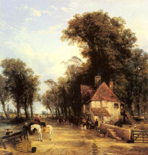 The Nearest Way in Summer by Thomas Creswick