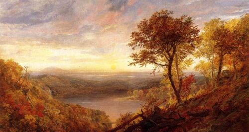 Greenwood Lake, New Jersey 2 by Jasper Francis Cropsey