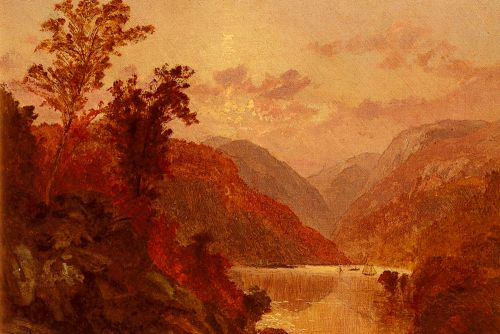 In The Highlands Of The Hudson by Jasper Francis Cropsey