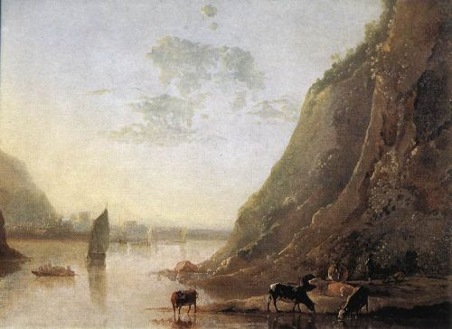 River-bank with Cows by Aelbert Cuyp