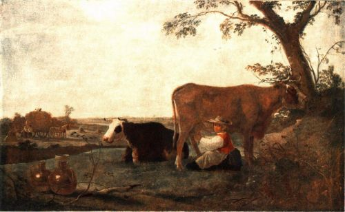 The Dairy Maid by Aelbert Cuyp