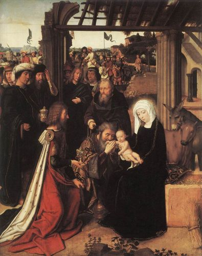 Adoration of the Magi by Gerard David