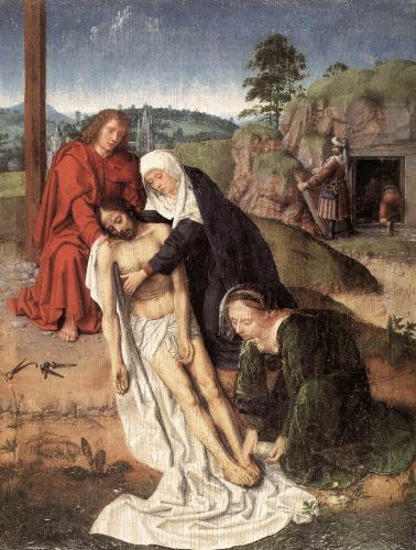 Lamentation by Gerard David